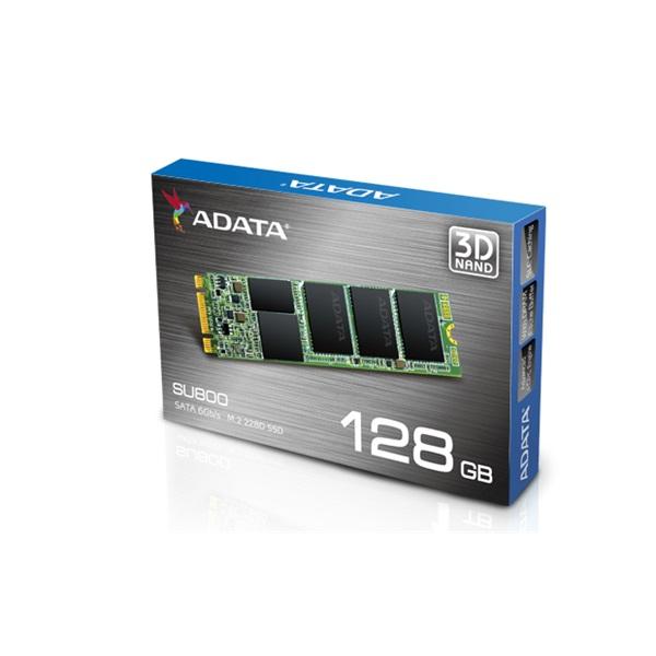 ADATA SSD M.2 SATA III 128GB Solid State Disk 2280 SU800 series