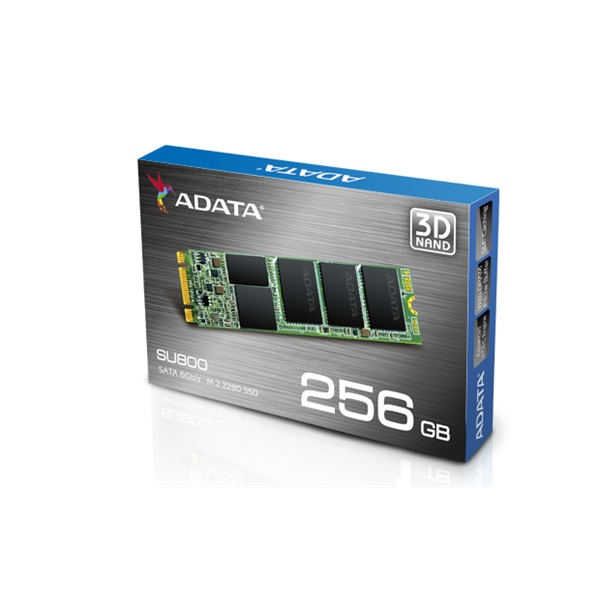 ADATA SSD M.2 SATA III 256GB Solid State Disk 2280 SU800 series