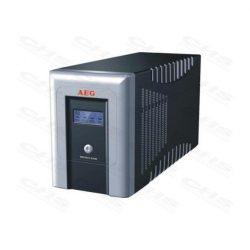 AEG UPS Protect A. (4+2 IEC13) 1000VA (600 W) LINE-INTERACTIVE szünetmentes tápegység