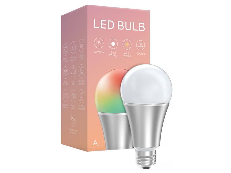 AEOTEC LED Bulb RGB E27 okos izzó