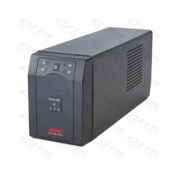 APC Smart-UPS SC420I (3+1 IEC13) 420VA (260 W) 230V Power-Saving LINE-INTERACTIVE szünetmentes tápegység