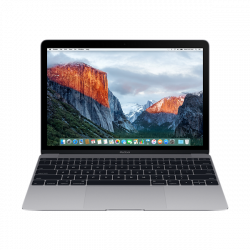 """APPLE MacBook 12"""" Retina/DC i5 1.3GHz/8GB/512GB/Intel HD Graphics 615/Silver - INT KB (2017)"""