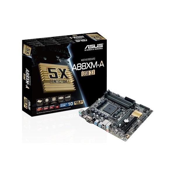 ASUS Alaplap FM2 A88XM-A/USB 3.1 AMD A88X