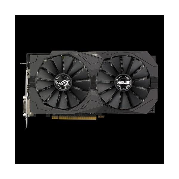 ASUS Videokártya PCI-Ex16x AMD RX 570 4GB DDR5 OC