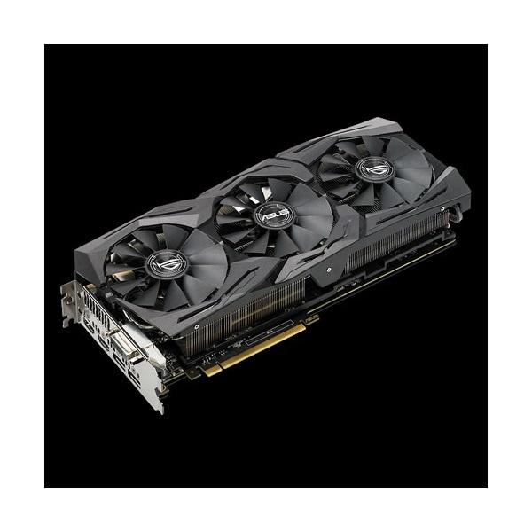 ASUS Videokártya PCI-Ex16x nVIDIA GTX 1080 8GB DDR5X OC 11Gbps