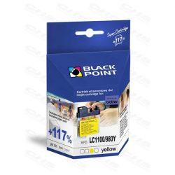 Black Point patron BPBLC1100/980Y (Brother LC1100/980 Y)