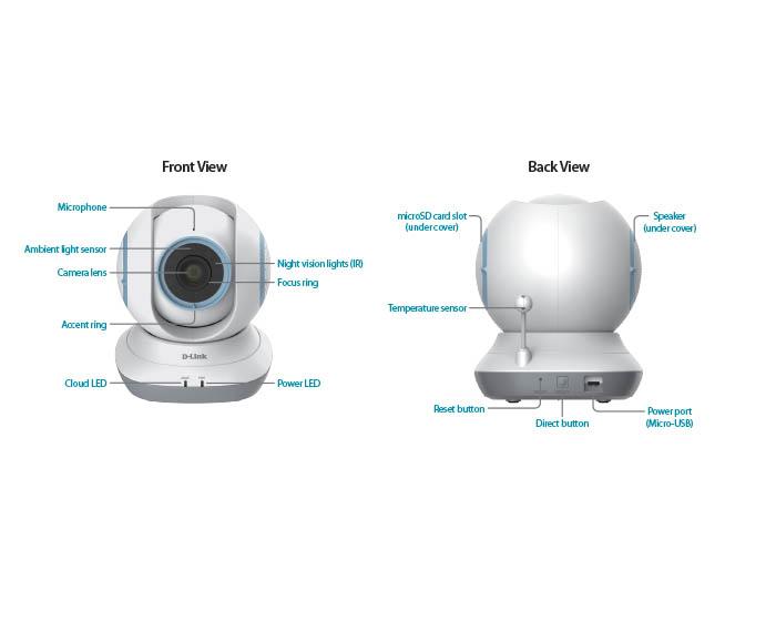 D-Link DCS-855L IP kamera