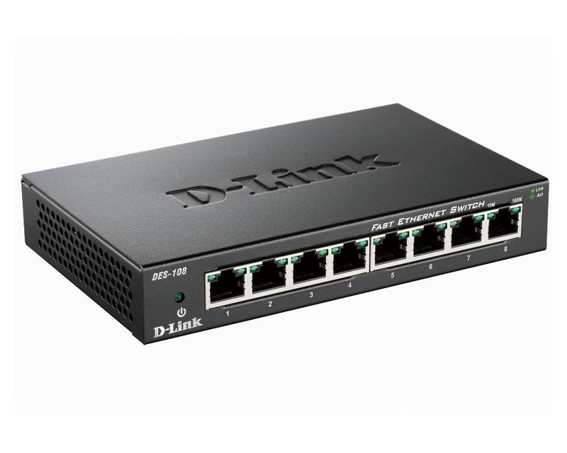 D-Link DES-108 Switch