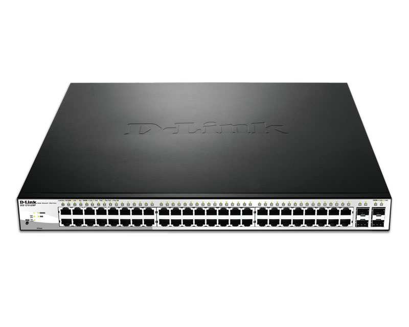 D-Link DGS-1210-52MP PoE Switch