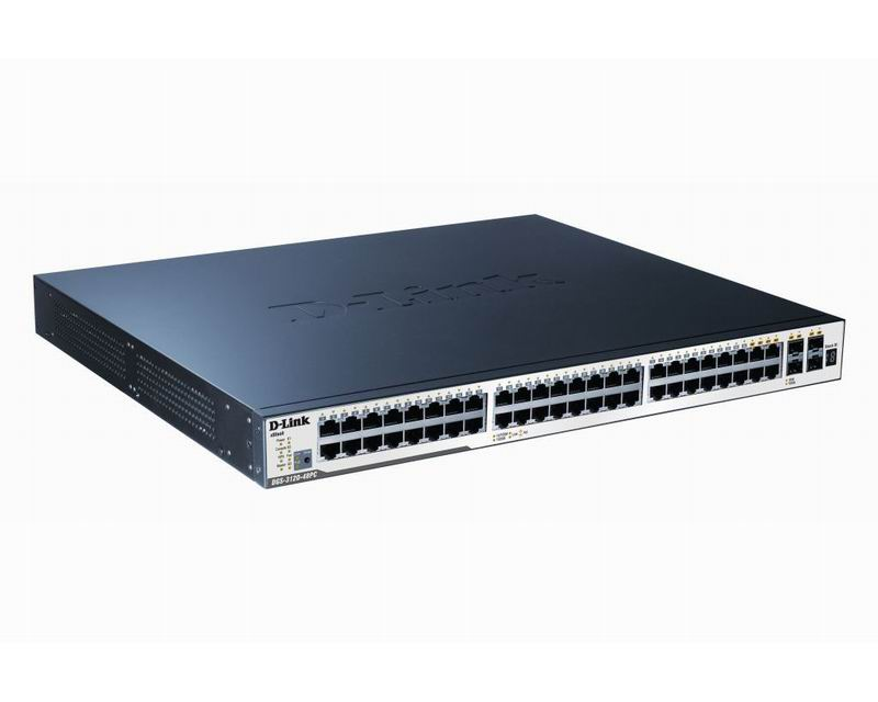 D-Link DGS-3120-48PC/SI PoE Switch