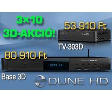 Dune HD 3D médialejátszó akció