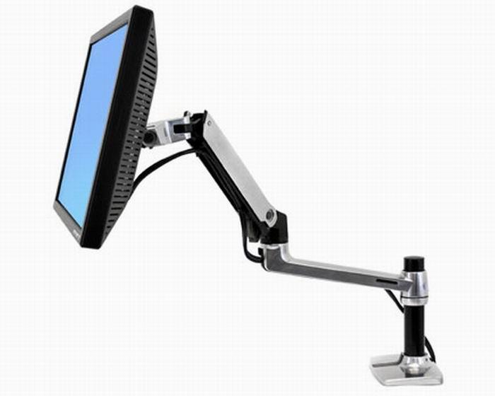 Ergotron LX asztali LCD monitor kar ezüst