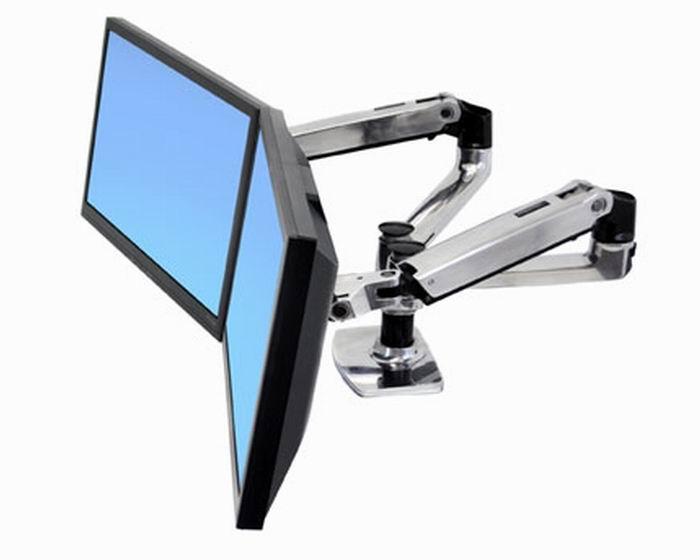 Ergotron LX Dual Side-By-Side asztali LCD monitor kar