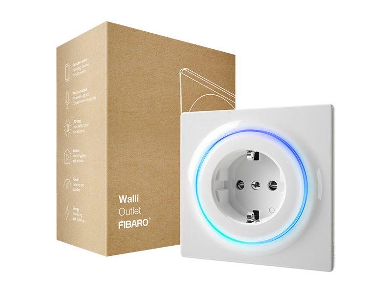 Fibaro Walli Outlet okos konnektor FGWOF-011