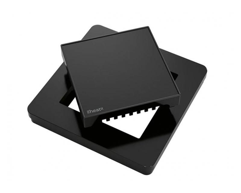 Heatit Plastic kit for thermostat Black