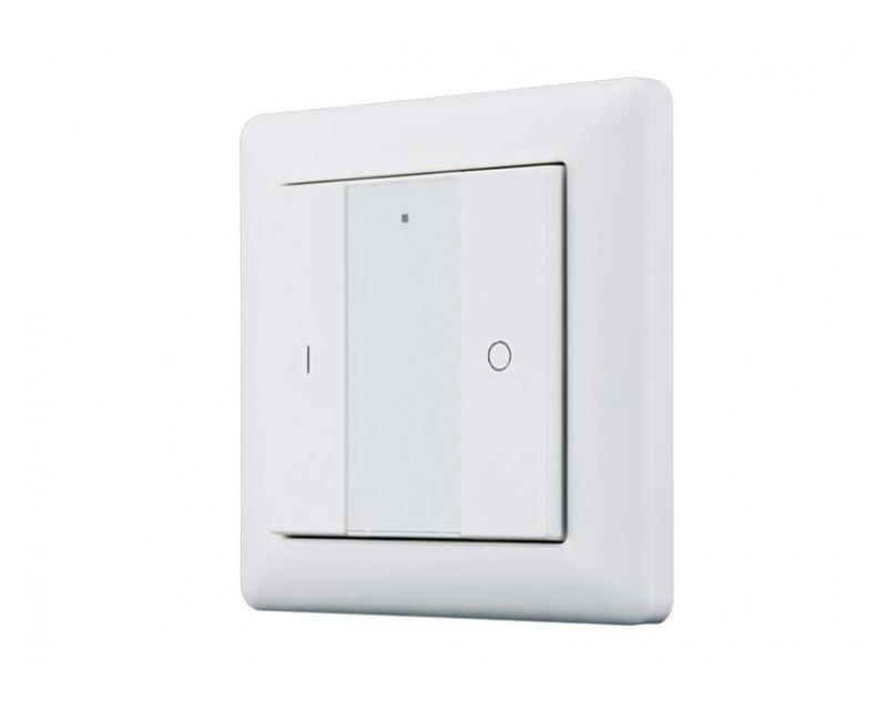 Heatit Z-Push Button 2 Fehér Z-wave okos fali kapcsoló