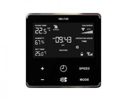 Heltun Fan Coil Thermostat Fekete-ezüst okos termosztát HE-FT01-SK