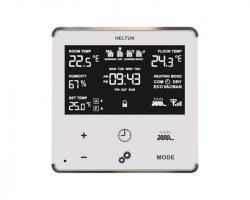 Heltun Heating Thermostat Fehér-ezüst okos termosztát HE-HT01-SW