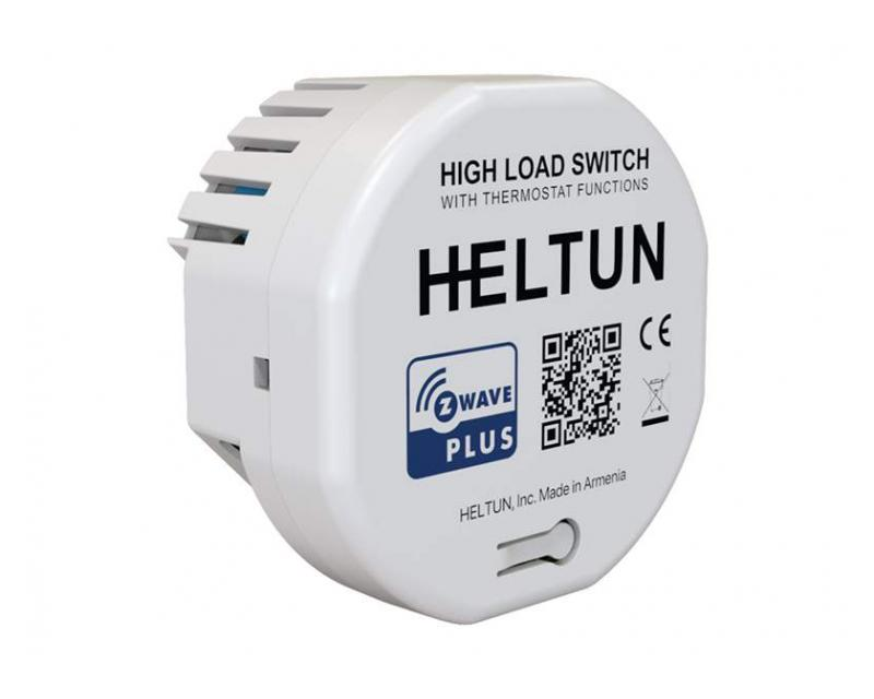 Heltun High Load Switch 16A okos relé HE-HLS01