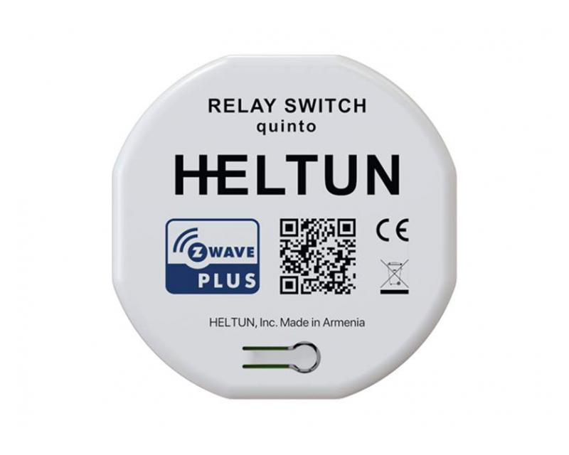 Heltun Relay Switch Quinto 5×5A okos relé HE-RS01