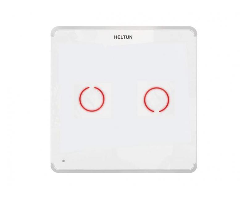 Heltun Touch Panel Switch Duo Fehér-fehér okos fali kapcsoló HE-TPS02-WW