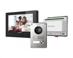 Hikvision DS-KIS701-B-D 2 vezetékes IP video kaputelefon szett