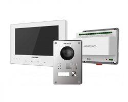 Hikvision DS-KIS701-W-D 2 vezetékes IP video kaputelefon szett