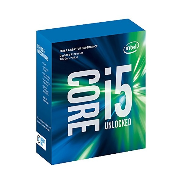 INTEL CPU S1151 Core i5-7600K 3.8GHz 6MB Cache BOX