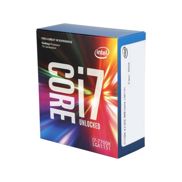 INTEL CPU S1151 Core i7-7700K 4.2GHz 6MB Cache BOX