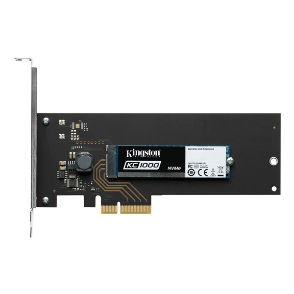 KINGSTON SSD PCIe Gen3 x4 NVMe (HHHL) 960GB Solid State Disk