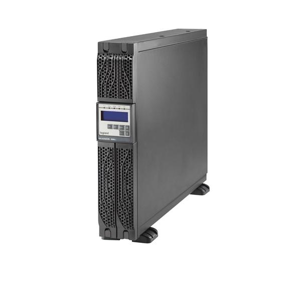 LEGRAND DAKER DK+ 3 kVA BEM: C20 KIM: 6xC13+1xC19 USB + RS232 SNMP szlot online kettős konverziós szünetmentes torony/ra
