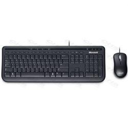 MS Vezetékes Billentyűzet + Optikai egér Desktop 600 USB