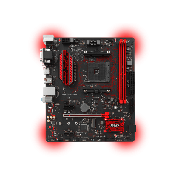 MSI Alaplap AM4 A320M GAMING PRO AMD A320