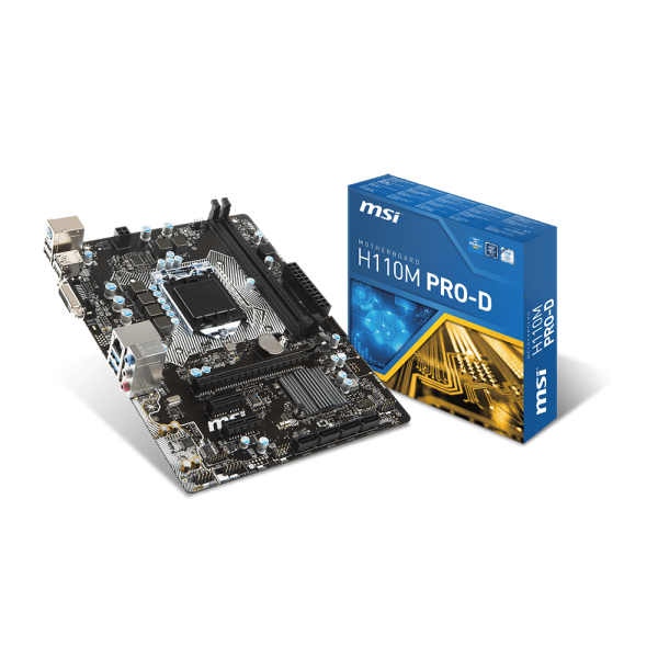 MSI Alaplap S1151 H110M PRO-D Intel H110