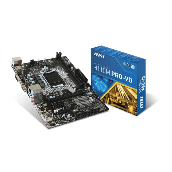 MSI Alaplap S1151 H110M PRO-VD Intel H110