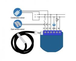Qubino On/Off Thermostat GOAEZMNHKD1