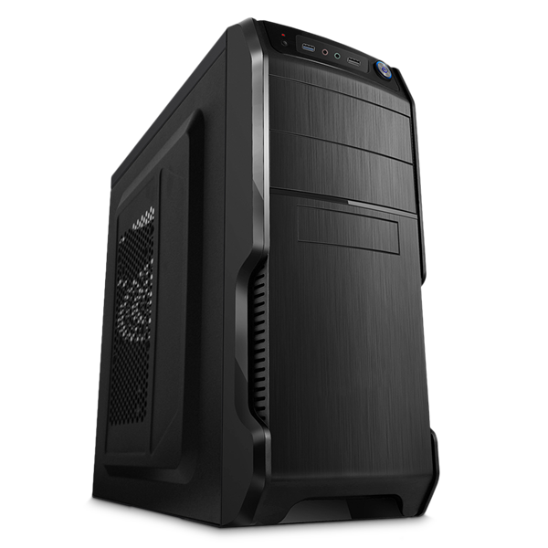 RPC Ház AA400BE ATX 400W 12cm Passzív PFC fekete