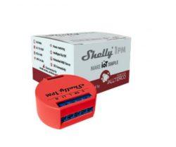 Shelly 1PM egycsatornás Wi-Fi-s okosrelé
