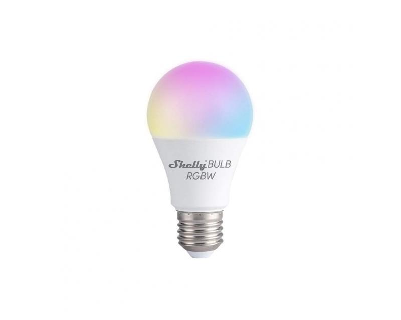 Shelly Duo RGBW E27 WiFi-s okosizzó